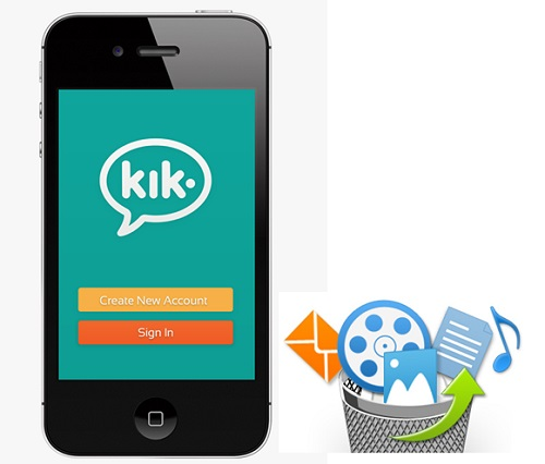 recover kik messages iphone