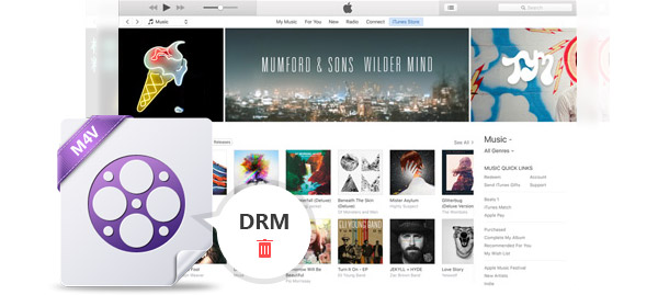 remove drm from itunes m4v