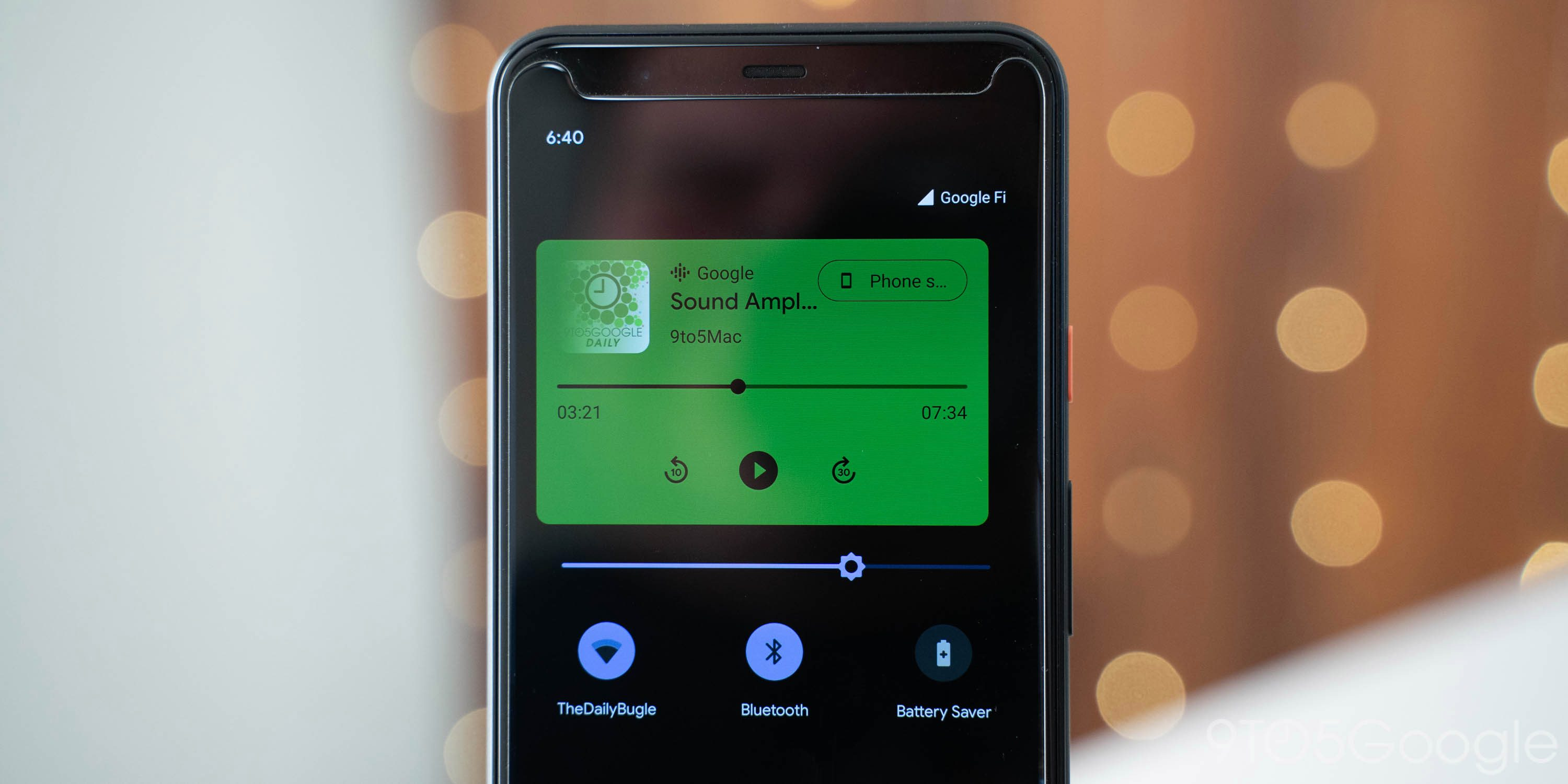 how to make spotify default music player on android