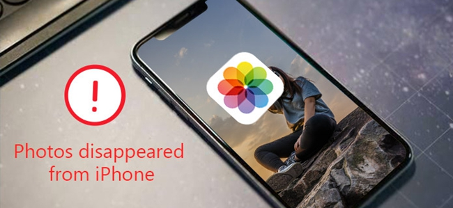 iphone photos disappeared