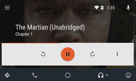 play audible with Android app