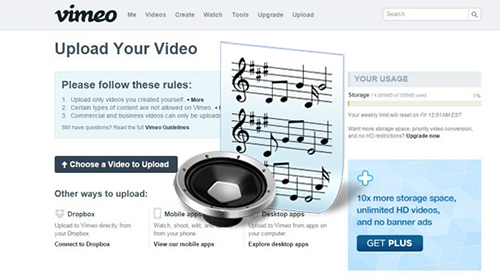 Easy Ways to Record Sound from Vimeo