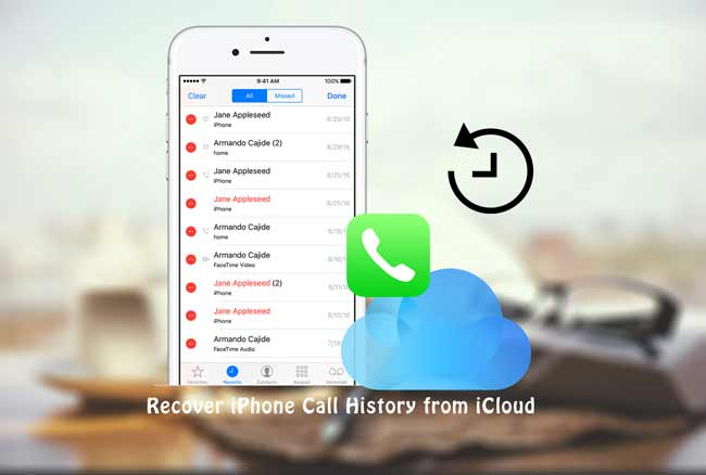 How to Recover Call History from iCloud Backup Effectively