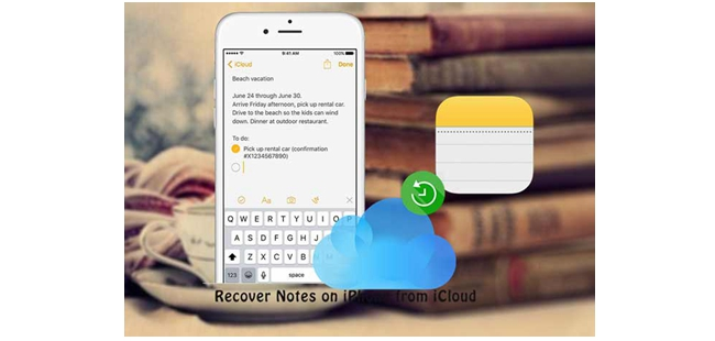 recover notes from icloud