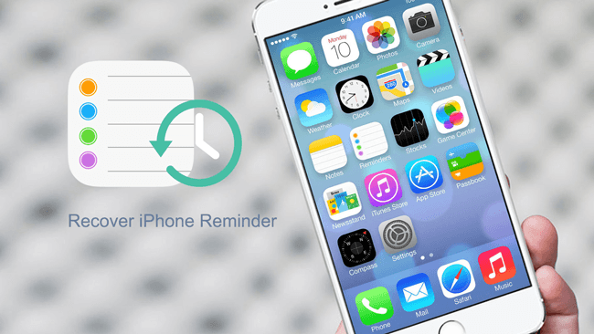 retrieve deleted reminder iphone
