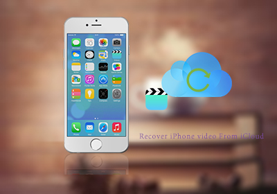 recover videos from icloud