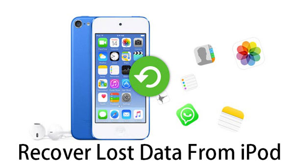 recover lost data from ipod