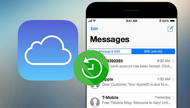 recover messages from icloud