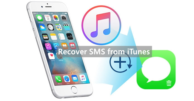 recover sms from itunes