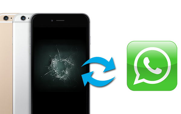 recover whatsapp broken iphone