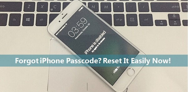 reset locked iphone without passcode