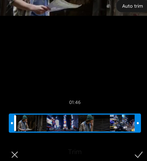 resize video on android