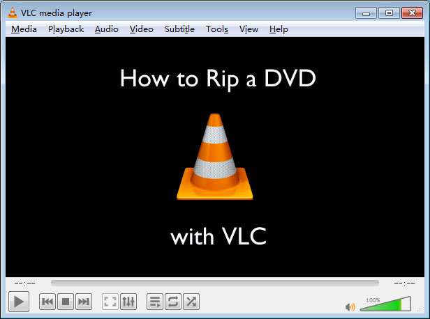 rip dvd with vlc