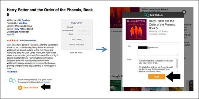 Easy Tips to Share Audible Books with Friends/Family
