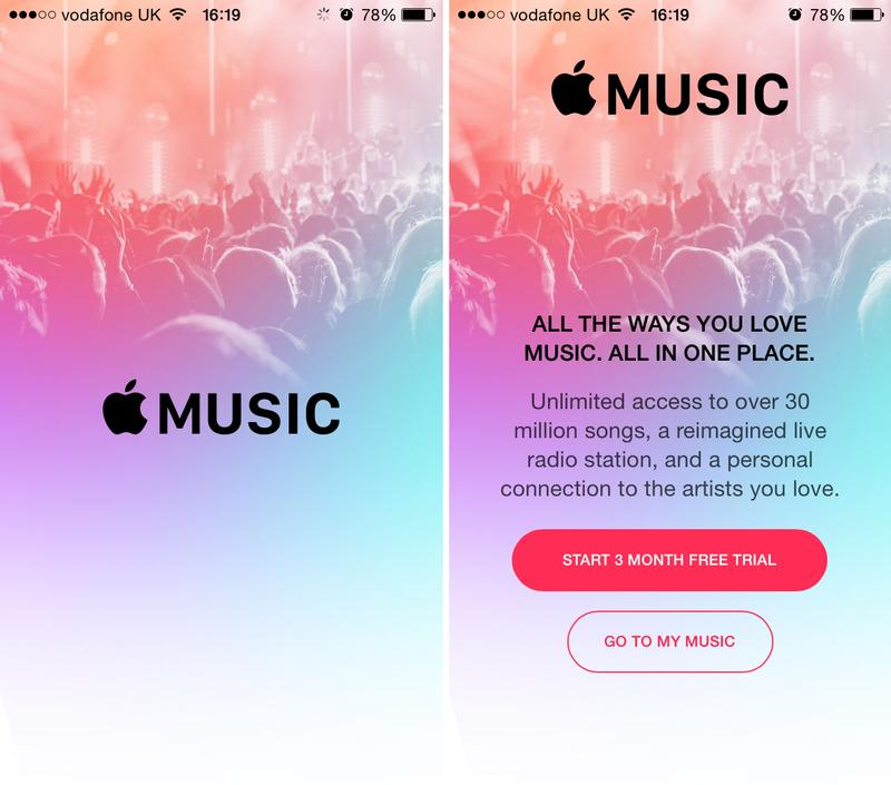 sign up for apple music on phone