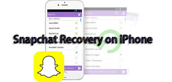 recover Snapchat photos from iphone