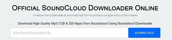 online soundcloud downloader