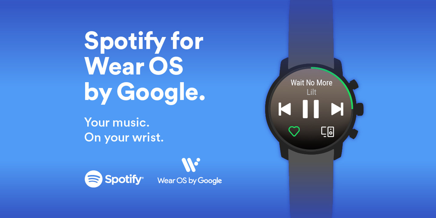 spotify music to wear os