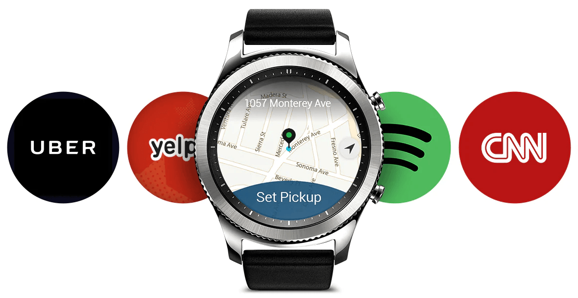 spotify on the samsung gear s3