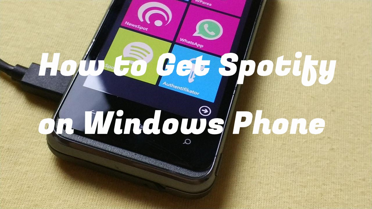 get spotify on windows phone
