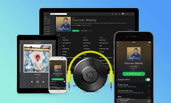 Solved: Best Solutions to Cast Spotify to Chromecast Audio