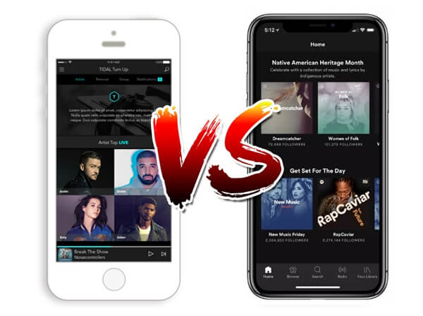 Tidal or Spotify: Which Streaming Music is Better?