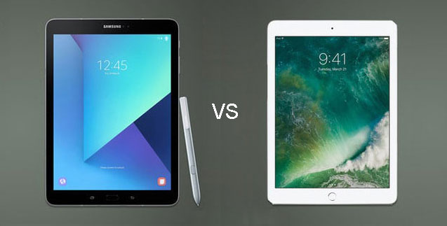galaxy tab s3 vs iPad pro