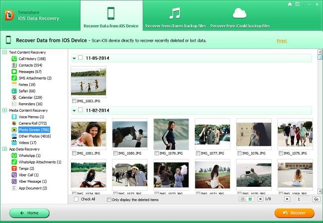 tenorshare ios data recovery