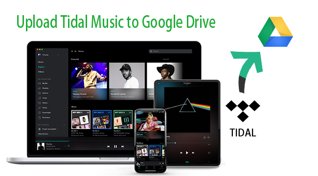 tidal music to google drive