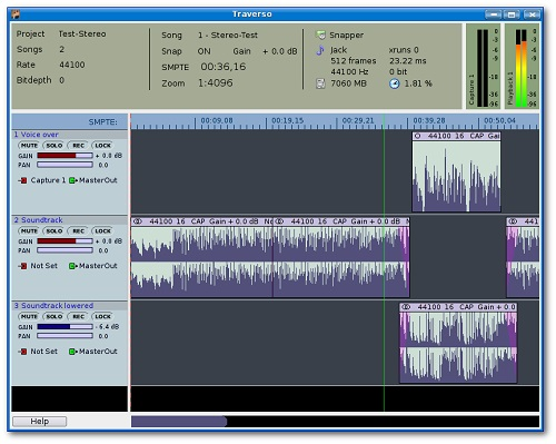 traverso daw recorder