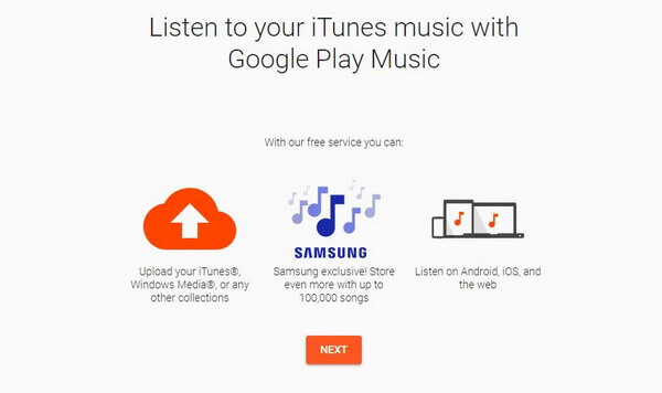 upload google play music