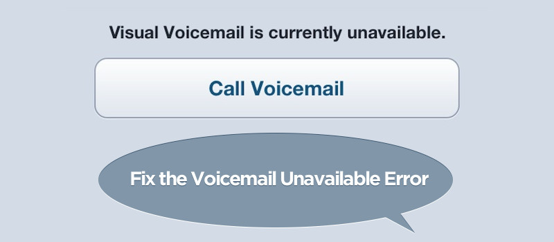 voicemail not working on iphone