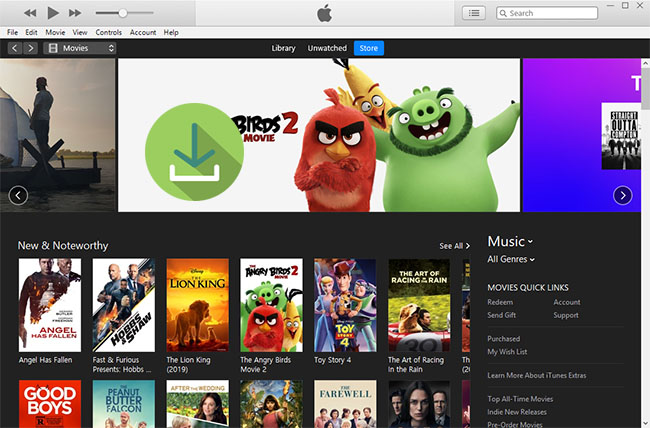 download movies from itunes