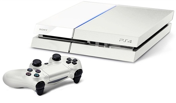 sony white ps4