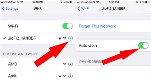 enable wifi autojoin