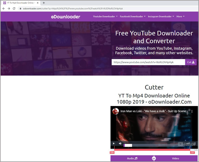 Cut Audio From Youtube With Youtube Video Cutter