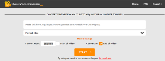 youtube to flac free online converter