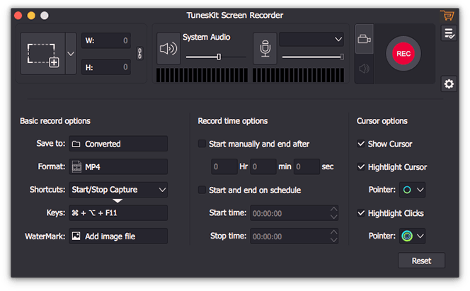 TunesKit Screen Recorder