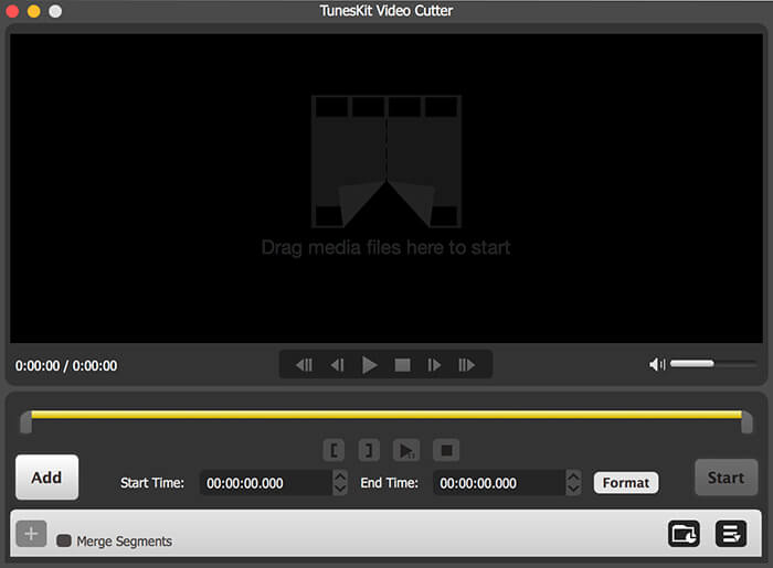TunesKit Free Video Cutter for Mac 2.2.1 full