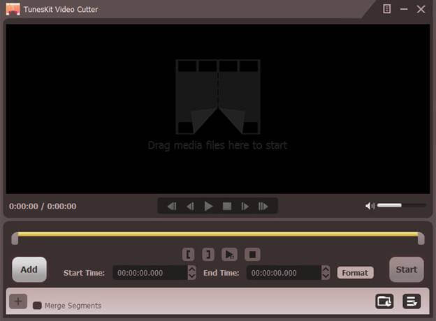 TunesKit Free Video Cutter for 0119;indows 1.0.0