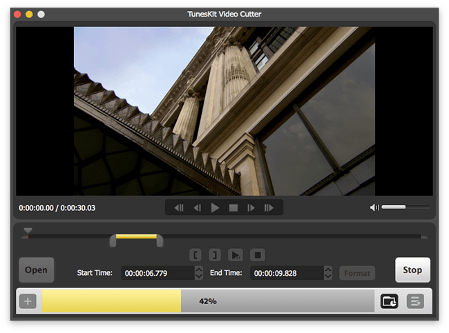 TunesKit Video Cutter for Mac 1.0.1
