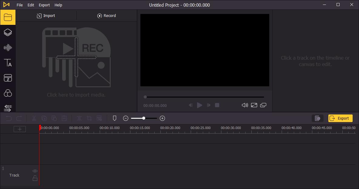 TunesKit AceMovi Video Editor for Windows